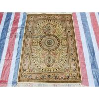 China 2x3 feet China 400line handknotted 100%silk rugs turkey pure carpet on sale