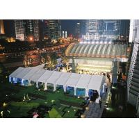 Wholesale White PVC Coated Wedding Reception Marquee Party Tent Aluminum Structure from china suppliers