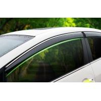Wholesale Sun And Rain Guard Car Window Visors For KIA K3 2013 With Stainless Steel Stripe from china suppliers