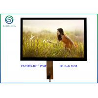 "Wholesale IIC Interface PCT Projected Capacitive Touch Screen , 10.1"" LCD Panel With GT928 from china suppliers"
