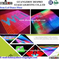 Wholesale Nightclub Disco 16W LED Dance Floor Lights Acrylic Panel DJ Stage Lighting from china suppliers