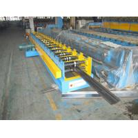 Wholesale 7.5Kw Door Frame Cold Roll Forming Machine With 3T Manual Decoiler from china suppliers