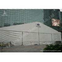 Wholesale 20M Width White Fabric Cover Outdoor Exhibition Tents / Outdoor Event Tent Aluminum Alloy Frofile from china suppliers