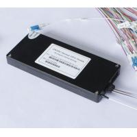 Wholesale Low Insertion Loss Athermal AWG Arrayed Waveguide Grating DWDM Fiber Multiplexer from china suppliers