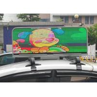 Wholesale Taxi topper LED YELLOW TAXI TOPPER FULL COLOR LED VIDEO DISPLAYS from china suppliers