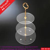 Acrylic 3 Tier Stand For Weddings /Cupcake Display Holder Stand