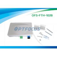 Quality 0.25 kg Fiber Termination Box Indoor Cable , Customer Mini FTTH Termination Box for sale