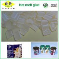 Wholesale White Granule EVA / Resin Hot Melt Glue Pellets Beverage Straw Fixing from china suppliers