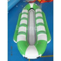 Wholesale 10 Persons Inflatable Banana Boat / Commercial Banana Boat Rider For Water Games from china suppliers
