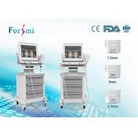 Wholesale Beauty Salon Device HIFU Focused Ultrasound High Frequency for anti aging wrinkle machines from china suppliers