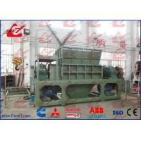 Quality Scrap Metal Shredder Scrap Vehicles Shredder Automatic Feeding PLC Control for sale