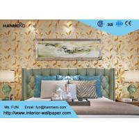 Wholesale Economic Beautify Leaves Modern Removable Wallpaper for Home Decoration , Pure Color from china suppliers