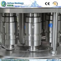 Quality Large Capacity Rotary Fruit Juice Filling Machinery 2750*2180*2200 mm for sale