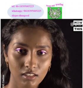 Wholesale Newest Design Gift Box Battery Power LED Eyelashes for Party /Colorful Eyelashes/Eye Lashes from china suppliers