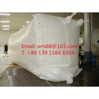Wholesale 20ft,30ft ,40ft WPP Waterproof Dry Bulk Container Liner Bag With fast discharge spout from china suppliers