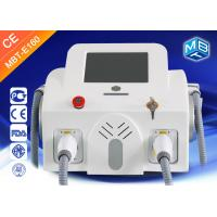 Wholesale Fast IPL SHR OPT Double Handle E Light Hair Removal 10 Different Language from china suppliers