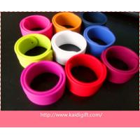Wholesale Fast Delievery Promotional Custom Silicone Snap Wristband from china suppliers