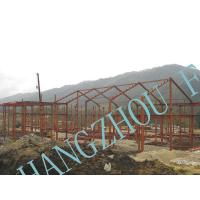 Wholesale Clear Span Prefabricated Structural Steel Buildings Galvanized Painted Column from china suppliers