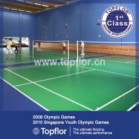Quality Badminton Sports Floor/PVC Roll Plastic Sports Flooirng for sale