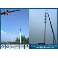 Wholesale Q235 Octagonal Wireless Communication Towers , Telecommunication Monopole Antenna Towers from china suppliers