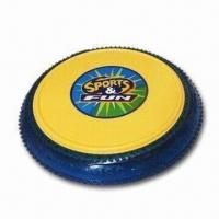 Wholesale Frisbee, Made of PP and PVC, Measures 17.5 x 17.5 x 2.5cm from china suppliers