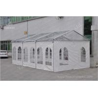 Clear Roof Cover Fabric Building Structures Portable Big Tents For Rent