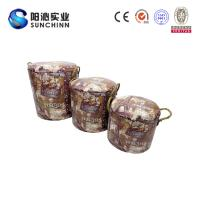 Buy cheap PU Leature Printing Wooden Furniture/Stool/Round Stool/Chair/Home Accents from wholesalers