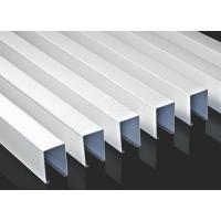Buy cheap Galvanized Steel U Shape Linear Ceiling Suspended For Show Rooms from wholesalers