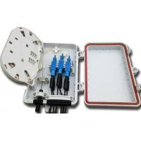 Wholesale FTTH Fiber Distribution Box , Custom 6 Port Terminal Box from china suppliers
