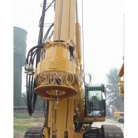 Wholesale 210KN CFA Drilling Equipment 6 - 27rpm Base Type CAT330D TR220W from china suppliers