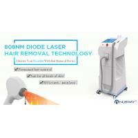Buy cheap Most advanced CE approval beauty machine diode laser 808nm hair removal with 10 Germany Laser Bars from wholesalers