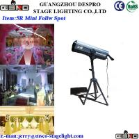 Wholesale DMX Concert Disco DJ Stage Follow Spot Light Cool White 260W 90CRI from china suppliers