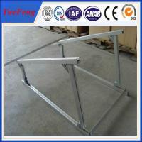 Wholesale aluminium extruded profile aluminum alloy frame solar system, solar aluminium profiles from china suppliers