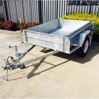 Wholesale 750kg Load Capacity 6x4 Galvanised Off Road Trailer , Off Road Tandem Camper Trailer from china suppliers