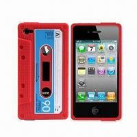 Wholesale Silicon Case for Apple's iPhone 4, Protects Full Back and Side from Scratches from china suppliers