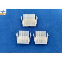 Wholesale 4.20mm Pitch Single Row Power Connectors Mini-Fit Plug Housing with Panel Mounting Lock from china suppliers