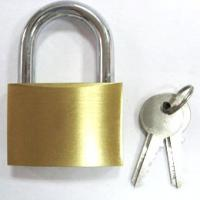 Wholesale brass padlock H40 key different,key alike, long shackle padlock available from china suppliers