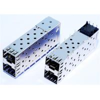 Wholesale CONN SFP CAGE 2X1 PRESS FIT LP21F001 Receptacle with Cage , Ganged 40Pos from china suppliers