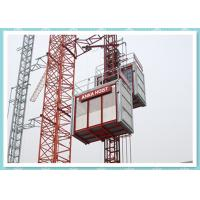 Wholesale CE Material Hoisting Equipment , Passenger And Material Hoist Used In Building / Construction from china suppliers