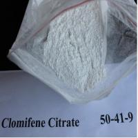Buy cheap Serm Anti Estrogen Steroids Powder Clomifene Citrate Clomid CAS 50-41-9 from wholesalers