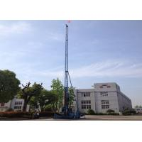 Quality XPG-65 long mast jet grouting drilling rig single double triple jet grouting drilling rig for sale