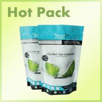 Quality Small Resealable Plastic Stand Up Pouch Bags Enviroment Friendly Metallized for sale
