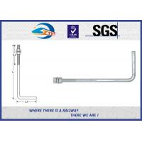 Wholesale Steel bolts and nuts hot dipped galvanized anchor bolts with Nut & Washer 3/4×24 from china suppliers