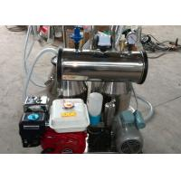 Wholesale Cows and Goat Mobile Milking Machine with Both Electric and Gasoline Motor , CE Certificate Approved from china suppliers