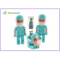 Wholesale Plastic Doctor Usb Flash Drive / Memory Usb Stick For PC , 8GB/16GB/32GB/64GB from china suppliers
