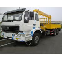 Wholesale factory direct sale SINO TRUK HOWO 10tons truck with crane, high quality best price HOWO 10tons teelscopic crane truck from china suppliers