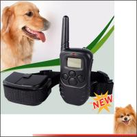 Wholesale 300m Power Remote anti dog bark collar elecking dog collar with retail shock device from china suppliers
