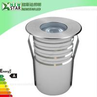 Wholesale IP67 Constant Current  Waterproof 1Watt LED Inground Light from china suppliers