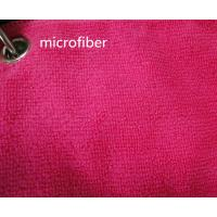 Wholesale Microfiber 260gsm Green Colorful 150cm Width  Terry fabric Car Glass Cleaning Cloth from china suppliers