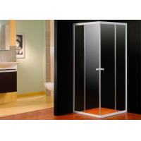 Wholesale EN12150 Approval 4mm Glass Corner Shower Enclosure Square With Shower Tray from china suppliers